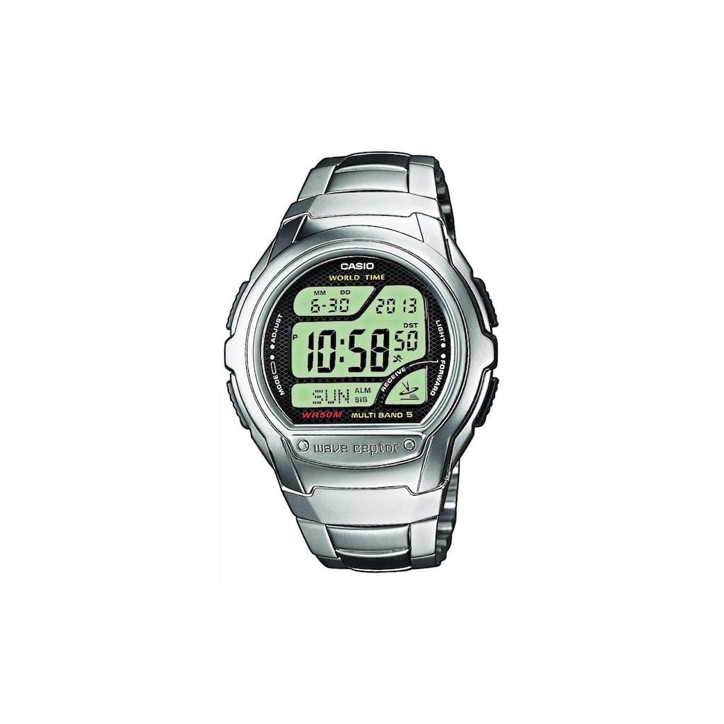 CASIO Watch »Armbanduhr Wave Ceptor WV-58DE-1AVEF«
