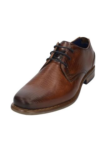 bugatti Schnürschuh »Benigno«, mit Ziernaht an der Laufsohle kaufen