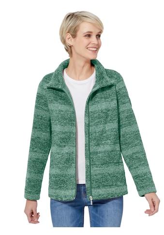 Casual Looks Fleece - Jacke mit Stehkragen kaufen