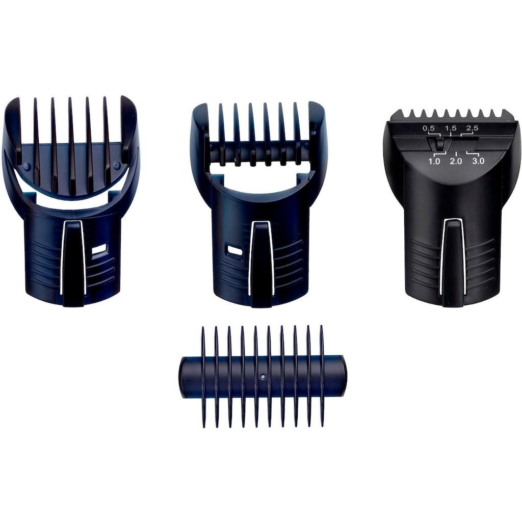 BaByliss Multifunktionstrimmer »E837E MEN X-10«, 5 Aufsätze, Multigrooming Set für Kopf, Gesicht & Körper