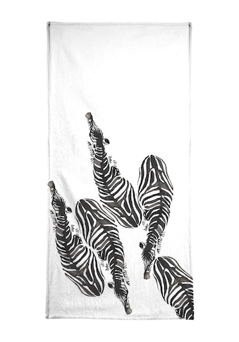 """Handtuch """"Zebra"""", Juniqe kaufen"""