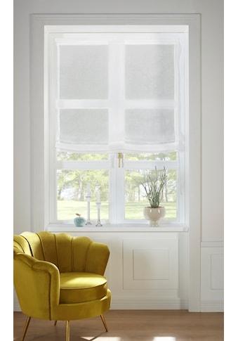 Guido Maria Kretschmer Home&Living Raffrollo »TENDER«, mit Klettband, transparent,... kaufen