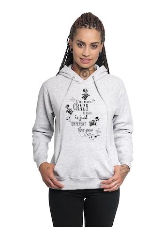 Disney Kapuzensweatshirt »Alice im Wunderland I'm Not Crazy« kaufen