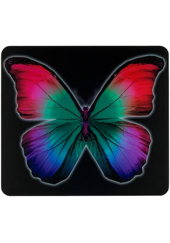 "WENKO Herd - Abdeckplatte ""Butterfly by Night"", Glas Silikon kaufen"