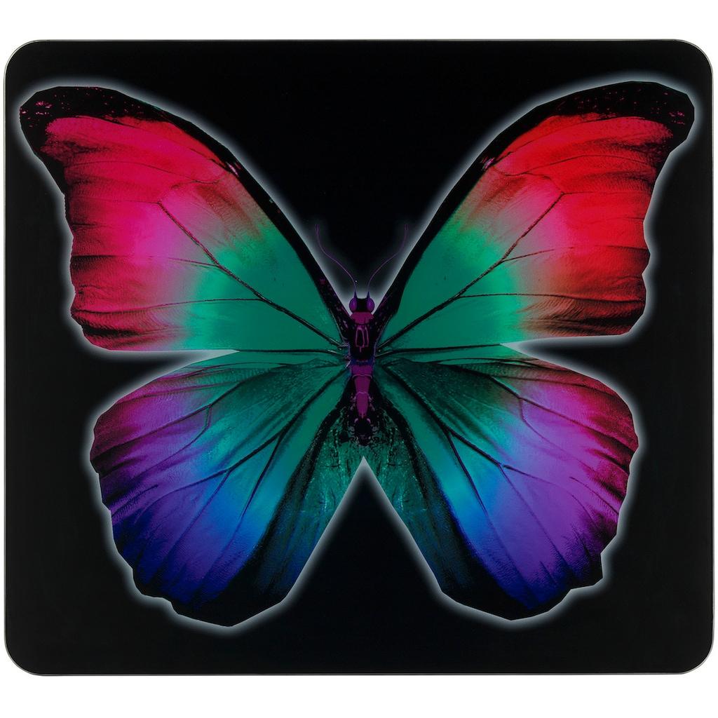 WENKO Herd-Abdeckplatte »Butterfly by Night«