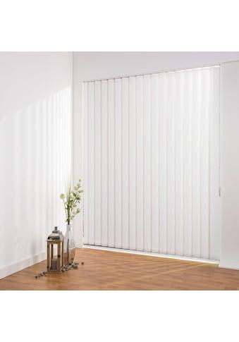 Lamellenvorhang, »Lamellenvorhang Vertikalanlage perlex  -  127 mm Lamelle«, Liedeco, freihängend kaufen