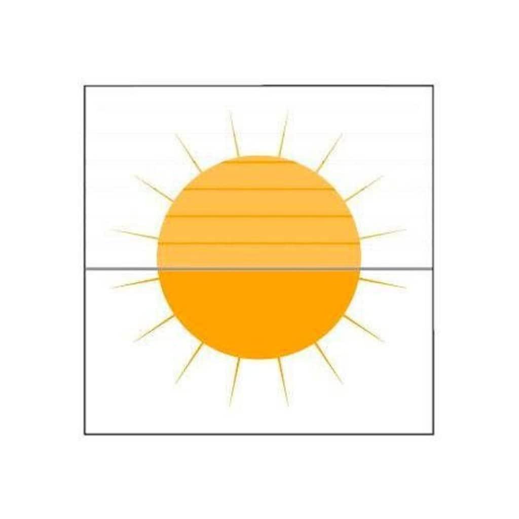 Plissee nach Mass, »Classic Style Crepe«, sunlines, Lichtschutz, ohne Bohren, verspannt