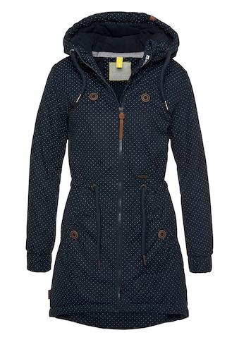 Alife & Kickin Outdoorjacke »CharlotteAK A«, modische Lieblings-Winterjacke mit Kapuze und Pünktchen-Print kaufen