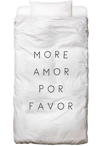 Bettwäsche »More Amor«, Juniqe kaufen