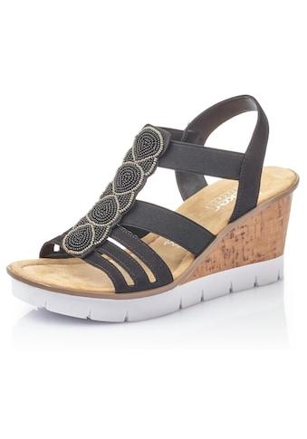 Rieker Sandalette, mit Zierperlen aufwendig besetzt kaufen