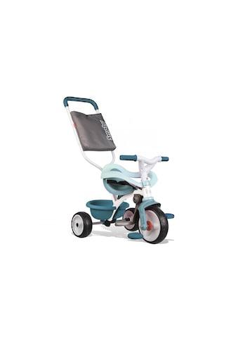 Smoby Dreirad »Be Move Komfort Blau«, Gurt, Pedal-Freilauf, Schiebestange, Verstellbarer Sitz kaufen