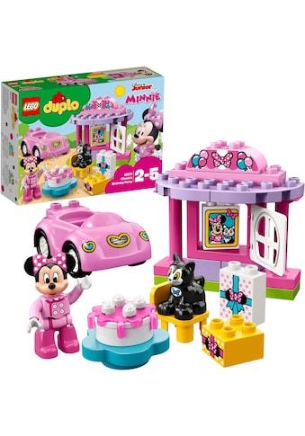 LEGO® Konstruktionsspielsteine »Geburtstagsparty (10873), LEGO® DUPLO® Disney«, (21 St.) kaufen