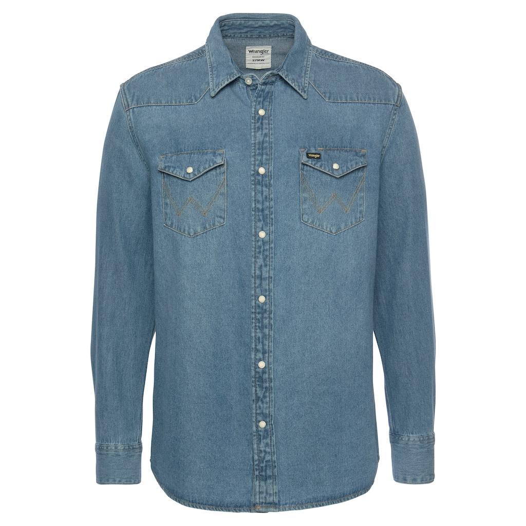 Wrangler Jeanshemd »Western Shirt«