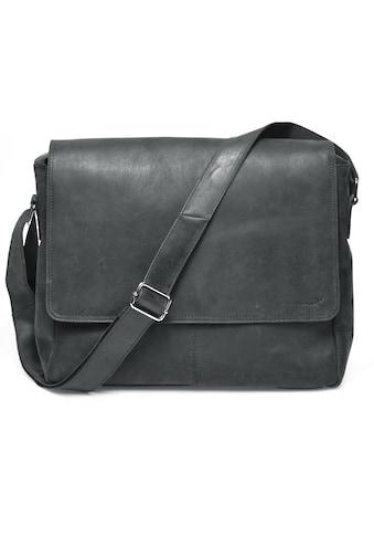 Packenger Messenger Bag »Vethorn, schwarz«, mit 15-Zoll Laptopfach kaufen
