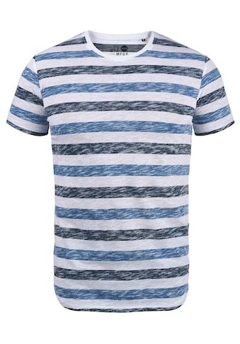 Solid Rundhalsshirt »Tet«, Kurzarmshirt mit Streifen kaufen