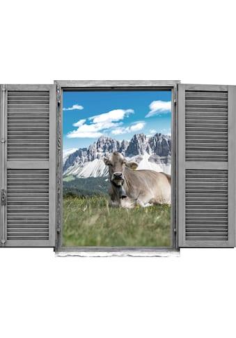 queence Wandtattoo »Kühe« (1 Stück) kaufen