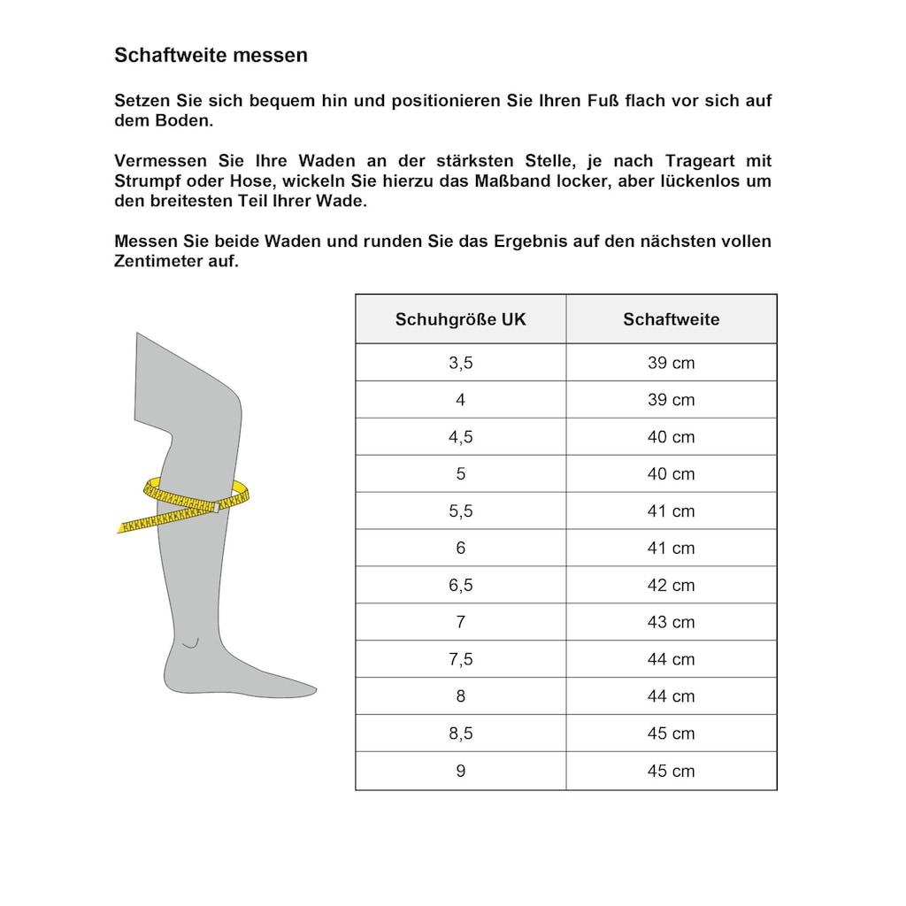 Ara Weitschaftstiefel »KANSAS«, mit XL-Schaft, in Used-Optik