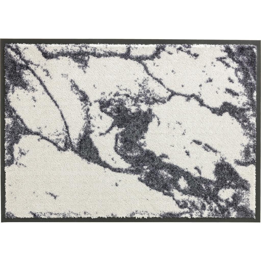 SCHÖNER WOHNEN-Kollektion Fussmatte »Miami 001«, rechteckig, 7 mm Höhe, Fussabstreifer, Fussabtreter, Schmutzfangläufer, Schmutzfangmatte, Schmutzfangteppich, Schmutzmatte, Türmatte, Türvorleger, waschbar