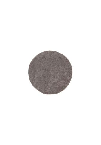 Teppich »Softshine taupe«, rund, - mm Höhe kaufen