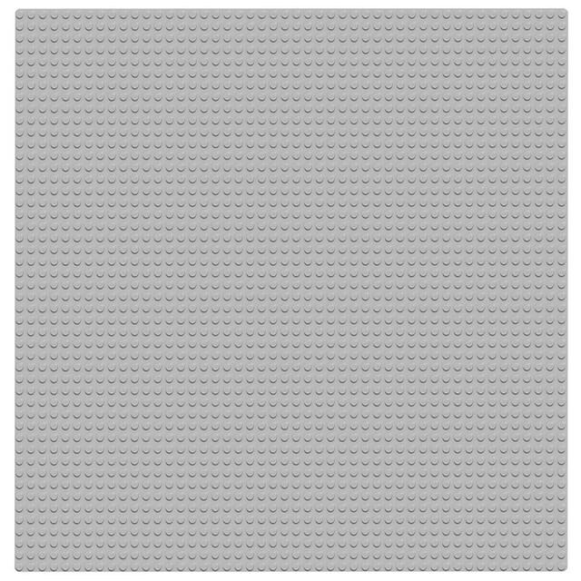 """LEGO® Konstruktionsspielsteine """"Graue Grundplatte (10701), LEGO® Classic"""", Kunststoff, (1-tlg.)"""