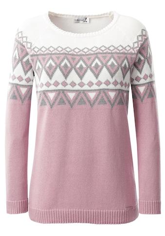 Casual Looks Pullover mit Norwegermuster kaufen