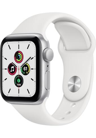 Apple Smartwatch »Apple Watch Series SE GPS, Aluminium Gehäuse, 40 mm mit Sportarmband«, ( ) kaufen