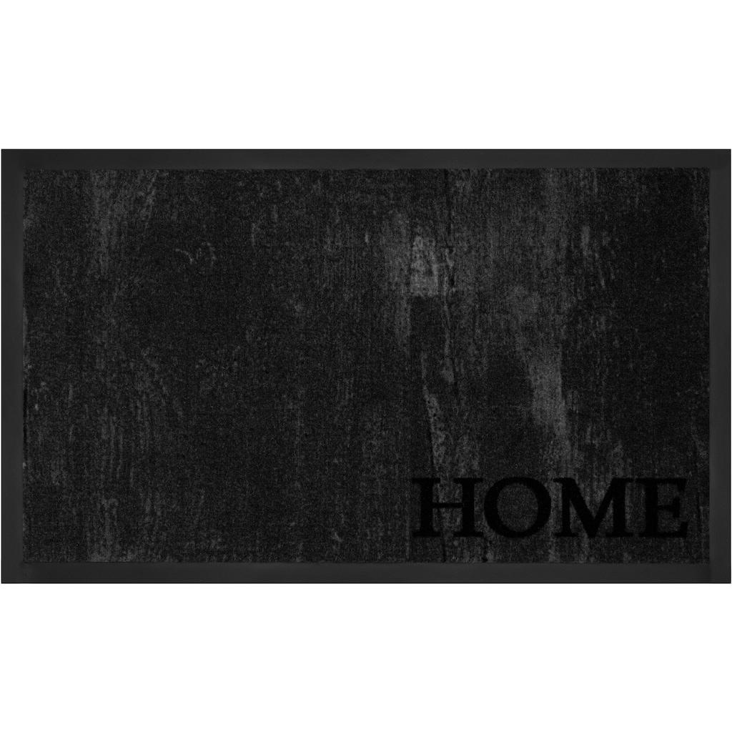 HANSE Home Fussmatte »Deluxe Home«, rechteckig, 5 mm Höhe, Fussabstreifer, Fussabtreter, Schmutzfangläufer, Schmutzfangmatte, Schmutzfangteppich, Schmutzmatte, Türmatte, Türvorleger, In- und Outdoor geeignet, waschbar