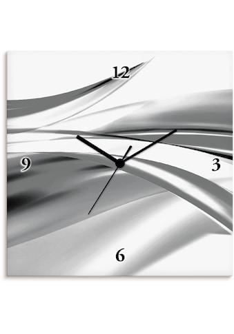 Artland Wanduhr »Schöne Welle - Abstrakt«, lautlos, ohne Tickgeräusche, nicht tickend,... kaufen