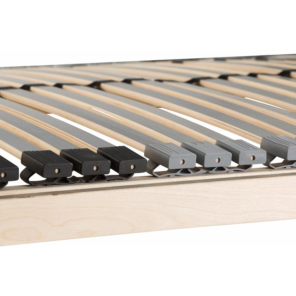 Beco Lattenrost »Premium«, 42 Leisten, Kopfteil manuell verstellbar, 42 besonders flexible Federleisten