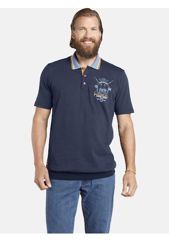 Jan Vanderstorm Poloshirt »ORVAR«, spezieller Bauchschnitt kaufen