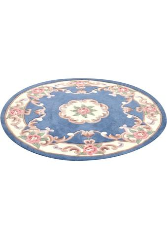 Teppich, »Ming«, THEKO, rund, Höhe 14 mm, handgetuftet kaufen