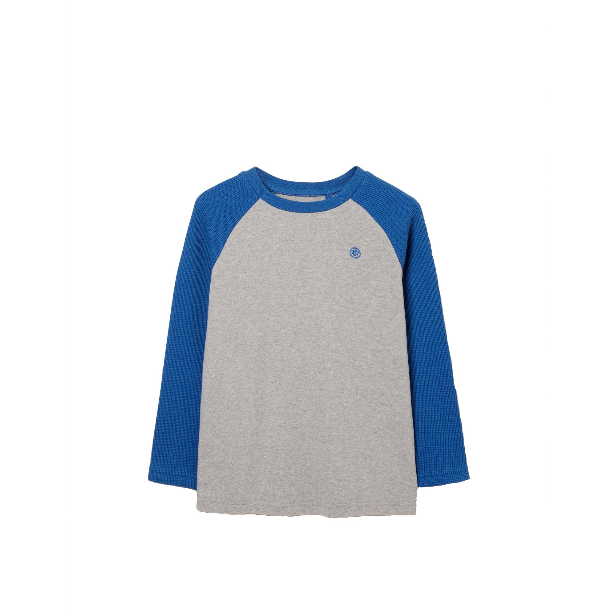 Image of FatFace Langarmshirt »Kinder mit kontrastierenden Raglanärmeln«