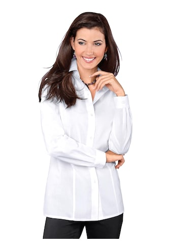 Classic Basics Bluse mit Seitenschlitzen kaufen