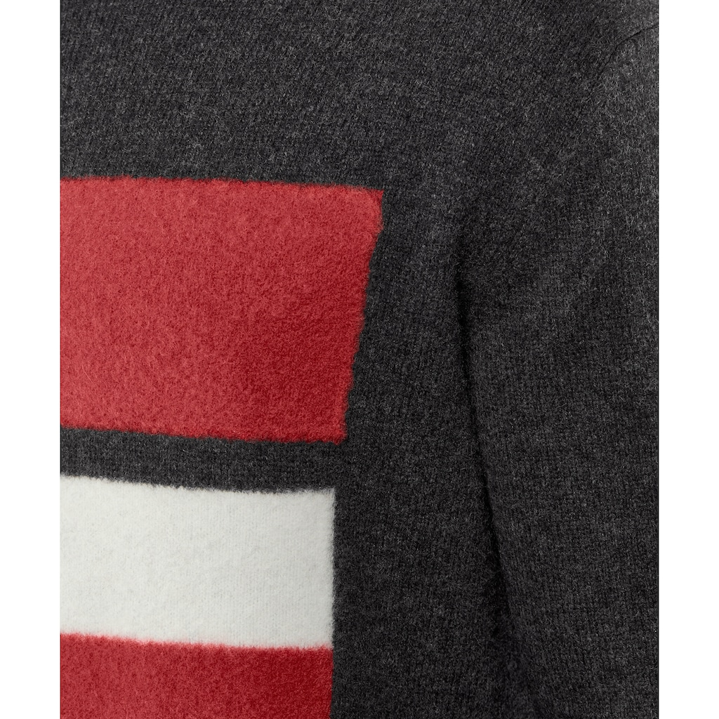 FALKE Trainingspullover »Pullover«, mit Schurwolle