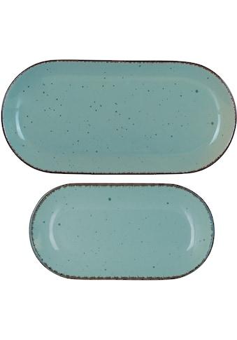ARTE VIVA Servierplatte »Puro«, (Set, 2 tlg.), vom Sternekoch Thomas Wohlfarter empfohlen kaufen