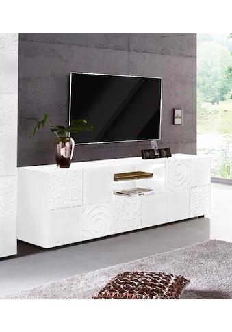 LC Lowboard »Miro«, Breite 181 cm mit dekorativem Siebdruck kaufen