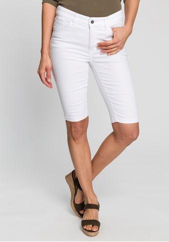 MAC Jeansbermudas »Dream Bermudas«, Krempelbarer gerader Schnitt kaufen