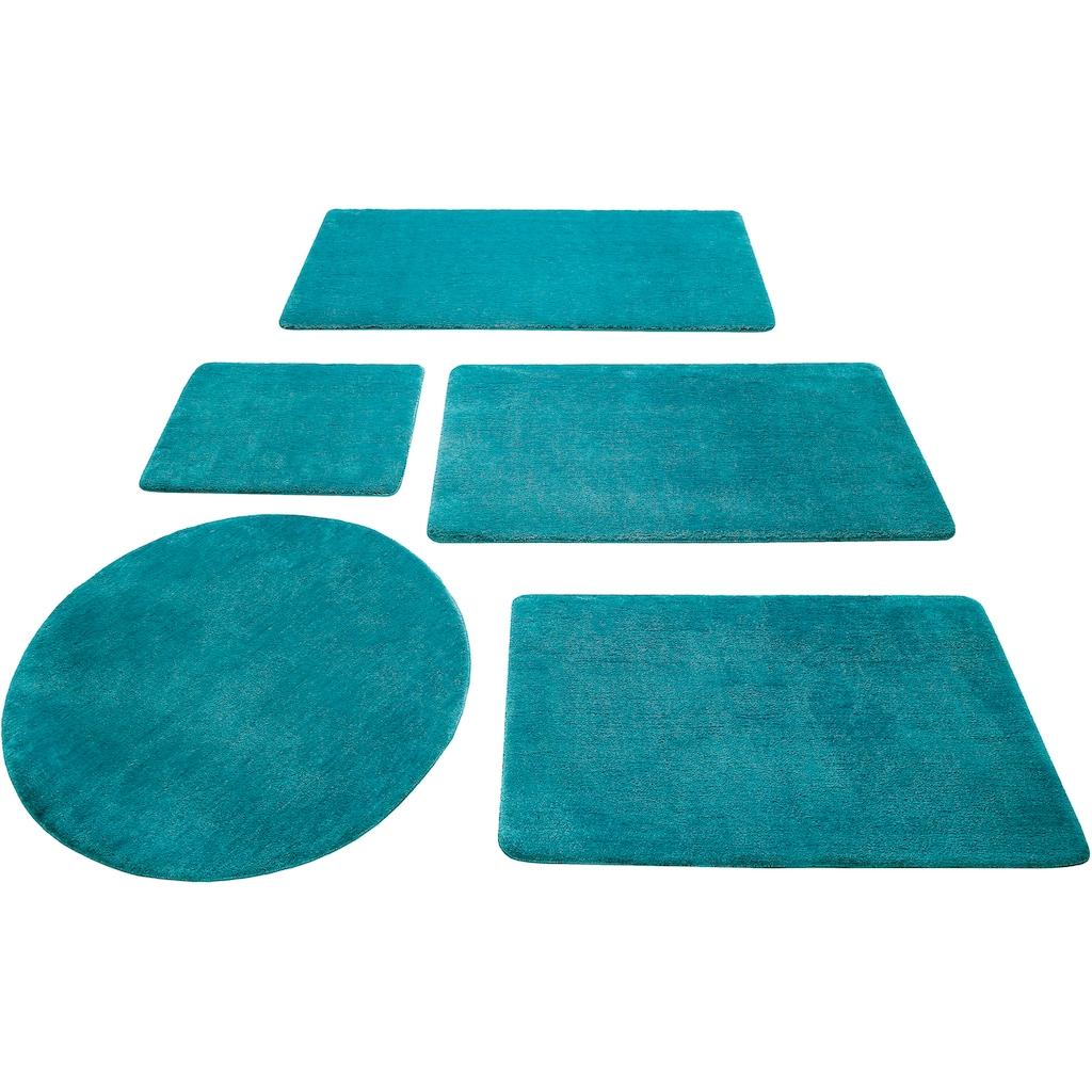 Wecon home Basics Badematte »Joris«, Höhe 20 mm, rutschhemmend beschichtet
