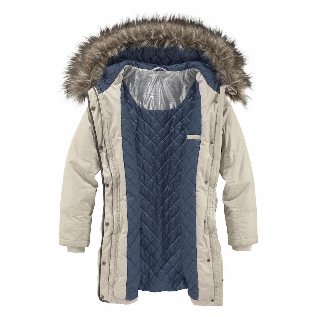Aniston SELECTED Parka, mit winterwarmer Fütterung