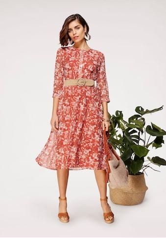 Tamaris Chiffonkleid, mit Blumenprint kaufen