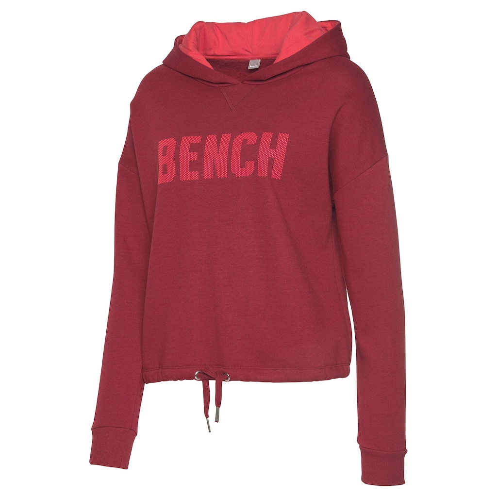Bench. Hoodie, in Cropped-Form