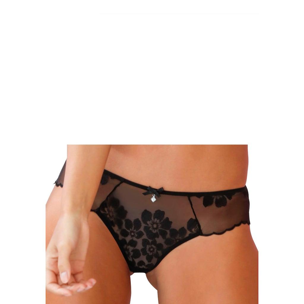 LASCANA Belle Affaire Slip, leicht transparent