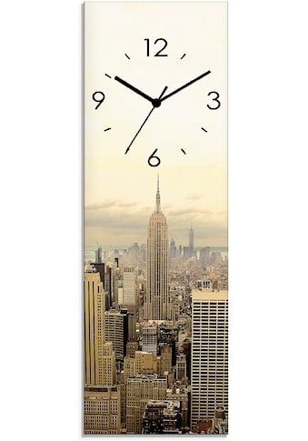 Artland Wanduhr »Skyline Manhattan  -  New York« kaufen