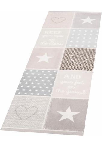Läufer, »Patchwork Pastel«, Zala Living, rechteckig, Höhe 5 mm, maschinell getuftet kaufen