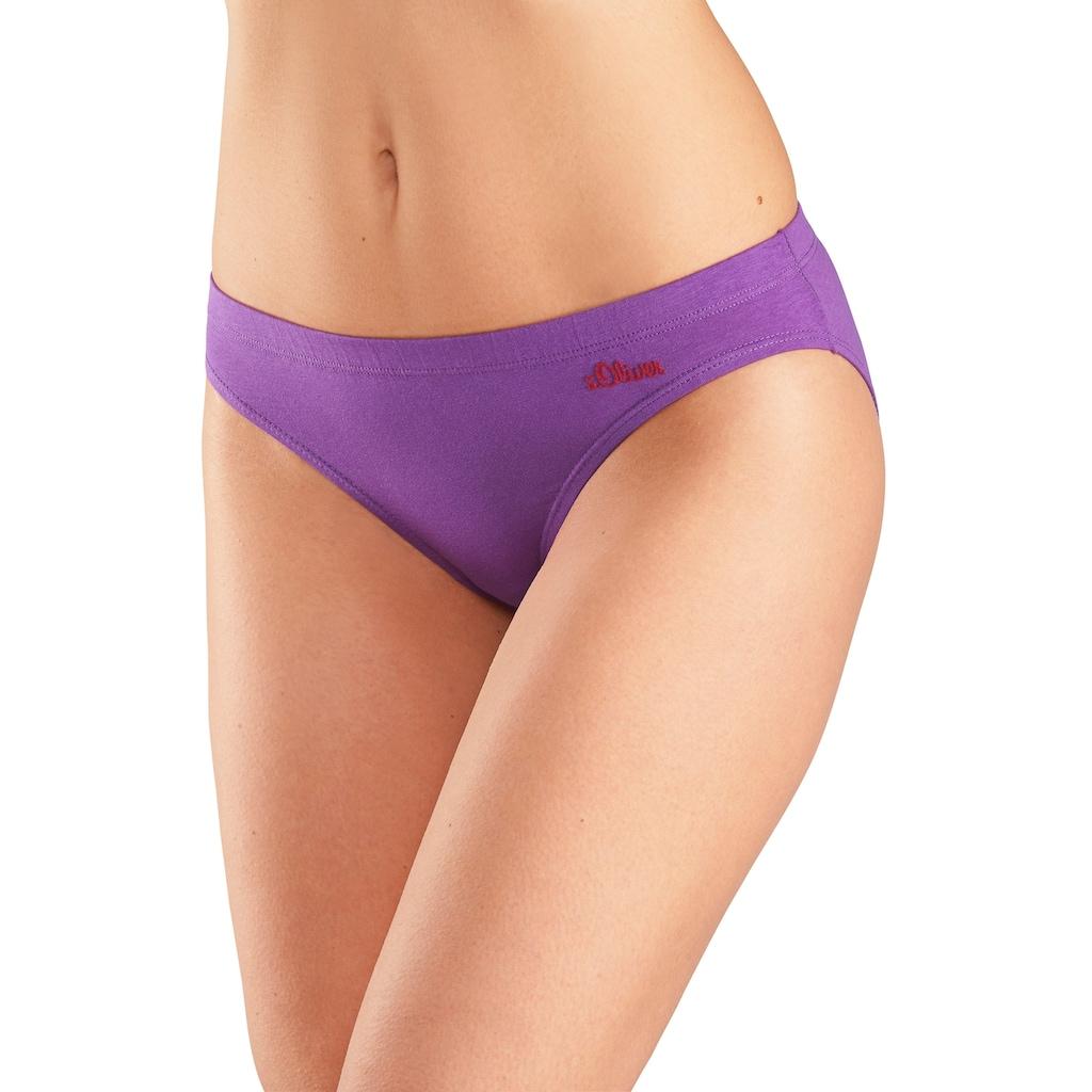 s.Oliver Bodywear Bikinislip, mit seitlichem Logodruck