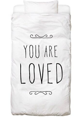 Bettwäsche »You Are Loved«, Juniqe kaufen