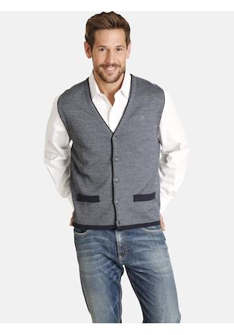 Jan Vanderstorm Strickweste »TANE«, mit wärmender Wolle kaufen