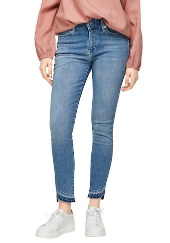 s.Oliver 7/8-Jeans, im Skinny Schnitt mit toller Waschung kaufen