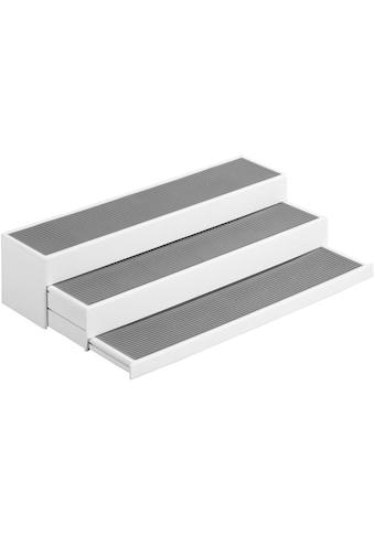 WENKO Ablageregal »Steps«, 3-stufig, ausziehbar kaufen