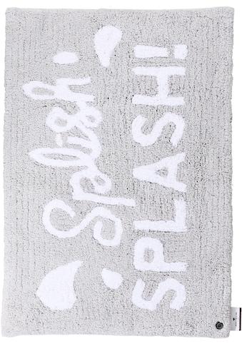 Badematte »Cotton Splash«, TOM TAILOR, Höhe 20 mm, rutschhemmend beschichtet, fussbodenheizungsgeeignet strapazierfähig kaufen